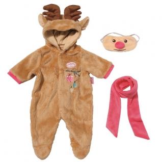 "Аксессуары для куклы Zapf Creation Zapf Creation Baby Annabell 701-157 Бэби Аннабель Костюм ""Северный олень"""