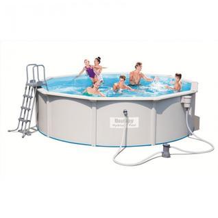 Bestway Стальной бассейн BestWay Hydrium Pool Set 56382 460х120 см