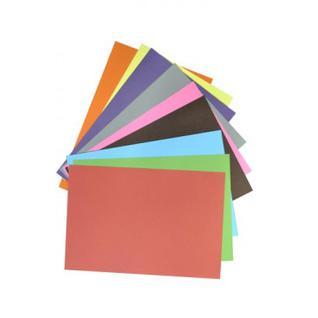 Набор цветной бумаги 50цв,30л,А4,бум+карт,двустор+карт,11-430-71