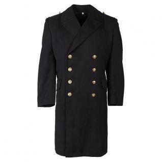 Пальто ВМФ Бундесвера, цвет черный, б/у
