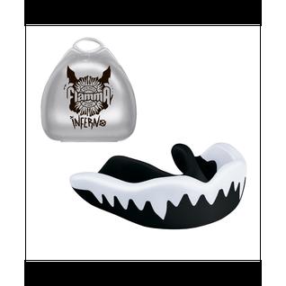 Капа Flamma Inferno White Black Mgf-015bw, с футляром, черный/белый