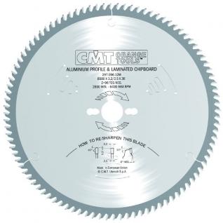 Диск пильный по цветным металлам и пластику СМТ 297.096.12P