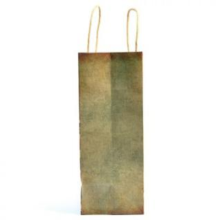 Пакет бумажный крафт, 150 г, ручки бумажные-крученые, 42579
