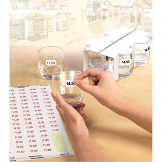Этикетки самоклеящиеся этикетки-ценники L3410REV-25 26х16мм, 25л.,2550шт/уп