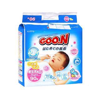 Подгузники Goo. N для новорожденных N B 90 (0-5 кг) Goon