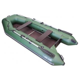 Моторная лодка Аква 3200 СК (стационарный транец, слань, киль) Мастер лодок