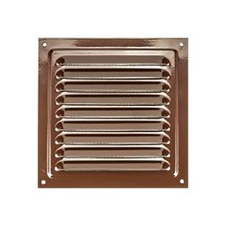 Решетка металлическая 300*300 коричневая Виенто