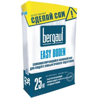 БЕРГАУФ Изи Боден самонивелирующийся наливной пол (25кг) / BERGAUF Easy Boden самонивелирующийся наливной пол (25кг) Бергауф