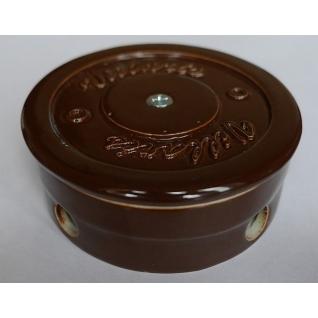Распределительная Коробка керамическая D90 H35  Brown(коричневый)