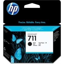 Оригинальный картридж CZ133A №711 для принтеров HP Designjet T120/520, чёрный, струйный, 80 мл 8598-01 Hewlett-Packard