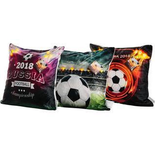 Подушка декоративная 40х40 светодиод Футбол 4