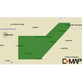 Карта C-MAP RS-N231 - Ока низовье C-MAP