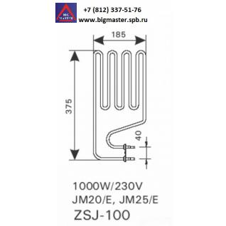 ТЭН Compact JM25(E) ZSJ 100