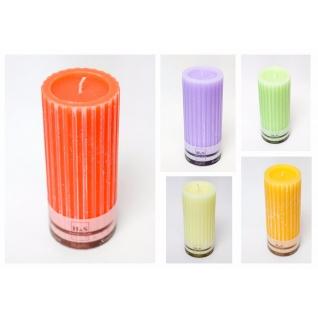 Свеча декоративная рифленая