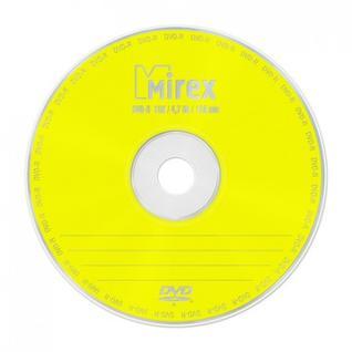 Носители информации Mirex DVD-R 4,7 Гб 16x cake box 25 (UL130003A1M)