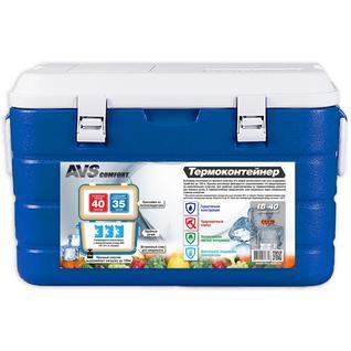 Термоконтейнер AVS IB-40 (+ Аккумулятор холода в подарок!)