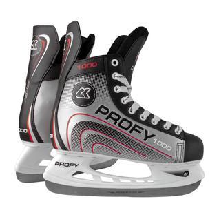 Хоккейные коньки СК (Спортивная Коллекция) (спортивная коллекция) Profy 1000, красный размер 30