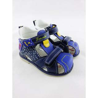 B-3164-С сандалии открытые синий BiKI 17-22 (18) Tom&Miki