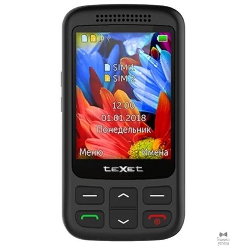 Texet 501-TM мобильный телефон цвет черный 36971550