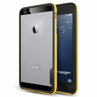 Бампер для iPhone 6 Plus Neo Hybrid EX цвет Reventon Yellow (SGP11060)