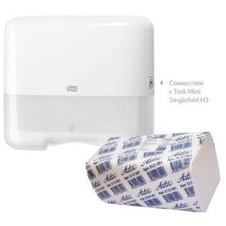 Полотенца бумажные д/держ.ASTER Pro S131201 V 2-сл.200л*20пач/уп