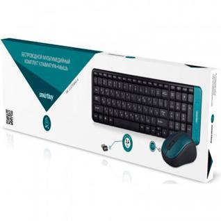 Набор клавиатура+мышь Smartbuy 222358AG-K черный (SBC-222358AG-K)