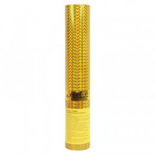 Пневмохлопушка в пластиковой 30см тубе Золотое конфетти 109881