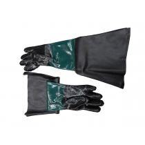 Защитные перчатки для пескоструйных аппаратов (2шт/к-т) Forsage