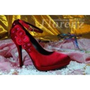 """Туфли """"Кларисса"""" красные"""
