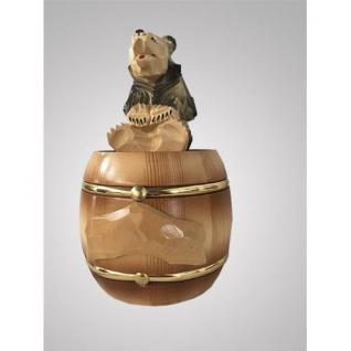 Кедровый бочонок с медведем