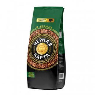 Кофе Черная Карта Espresso Italiano в зернах, 1 кг