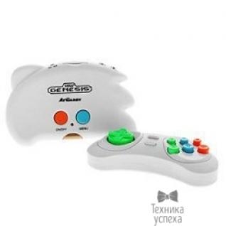 Sega SEGA Genesis Nano Trainer + 40 игр (геймпад, AV кабель) белый ConSkDn33