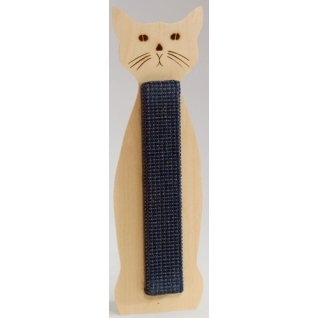"""Когтеточка """"Кошка"""" сизалевая и кошачьей мятой, 60x12 см Beeztees"""