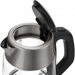Чайник Polaris PWK 1777CGLD, 2200Вт, 1.7л, (нерж.сталь/стекло)