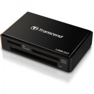 Картридер Transcend TS-RDF8K Black USB 3.0