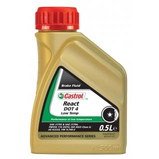 Тормозная жидкость CASTROL Low Temp DOT 4 0,5 литра