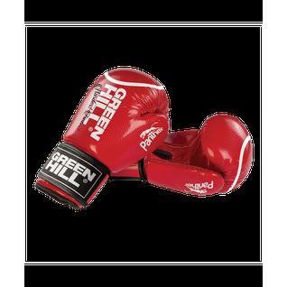 Перчатки боксерские Green Hill Panther Bgp-2098, 12 Oz, красный