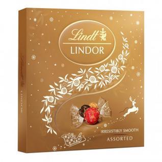 Набор конфет Lindor ассорти, 125г