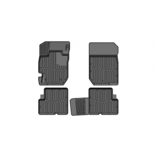 Ковры в салон SRTK PREMIUM 3D Nissan Almera 2012- PR.NS.ALM.12G.02X36