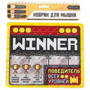 Коврик д/мыши Победитель 3503594 Sima-land