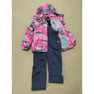 15-02 Комплект для девочки розовый/темн-синий FENG (80-128) (128)