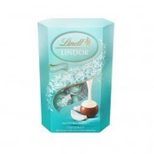 Набор конфет шоколадных Линдор Кокос, 200гр