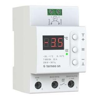 Терморегулятор для снеготаяния terneo sn