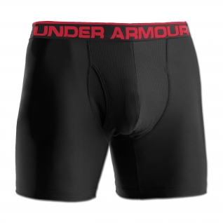 Шорты боксерские 6 Under Armour HeatGear, цвет черный