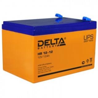 Аккумуляторная батарея Delta HR 12-12 (12V/12Ah)