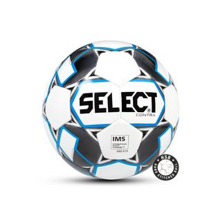 Мяч футбольный Select Contra Ims 812310, №5, белый/черный/синий (5)