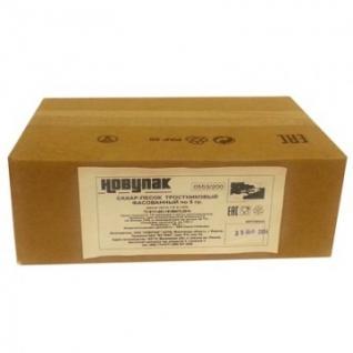 Сахар фасованный тростниковый Материк 5 гр.(200 шт/уп.)