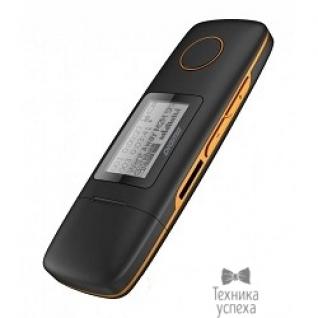 "Digma 291208 Плеер Flash Digma U3 direct USB 4Gb черный/оранжевый/1.1""/FM/microSD"