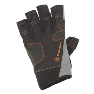 CrewSaver Перчатки короткие чёрные CrewSaver Phase2 Short Finger Glove 6928-L 185 x 115 мм