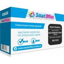 Лазерный картридж 44315308/44315304 для Oki C610 совместимый, чёрный (8000 стр.) 11740-01 Smart Graphics